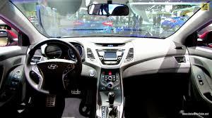 hyundai elantra interior 2014. 2014 hyundai elantra at 2013 los angeles auto show wallpapers interior