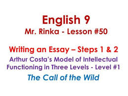 characters of the call of the wild by jack london ppt  english 9 mr rinka lesson 50 writing an essay steps 1
