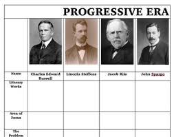 Progressive Muckrakers Worksheets Teaching Resources Tpt