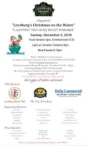 Venetian Gardens Leesburg Christmas Lights Christmas On The Water Holiday Lighted Boat Parade