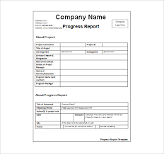 report template for word status report template 27 examples you can download free