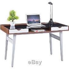 Retro home office Classy Glass Computer Desk Retro Home Office Work Station Laptop Pc Table Sturdy Study Nutritionfood Glass Computer Desk Retro Home Office Work Station Laptop Pc Table