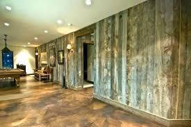 painting interior concrete walls