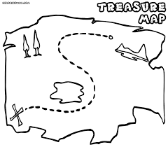 Treasure Map Coloring Pages Best Of Map Coloring Pages ...