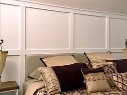 Small Picture Wall Paneling with Fluted Molding HGTV