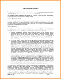 Subcontractor Contract Template 24 Simple Subcontractor Agreement Packaging Clerks 18