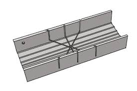 metal miter box. wonkee donkee metal mitre box for very accurate precise joints used primarily by hobbyists miter