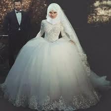 Aliexpress.com : Buy Ball Gown Wedding Dresses Long Sleeve ...