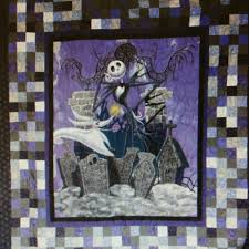 Tim Burton's The Nightmare Before Christmas by SewWhatQuiltShop ... & Tim Burton's The Nightmare Before Christmas by SewWhatQuiltShop Adamdwight.com
