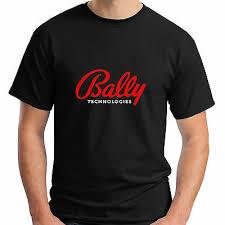 Bally Fitness Size Chart New Bally Short Sleeve Technologies Logo Black Mens T Shirt
