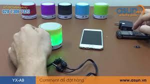 Hướng Dẫn Kết Nối và Sử Dụng Loa Bluetooth YX-A9 - Asun.vn - YouTube