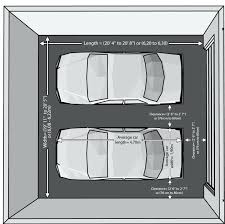 size of two car garage two car garage door dimensions collection in industrial with sizes two