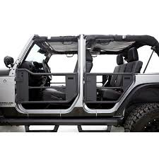 rage s 7684 front rear trail doors for 07 18 jeep wrangler jk unlimited 4 door quadratec