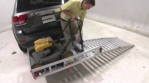 carrier ramp. review of the maxxtow hitch cargo carrier with pivoting ramp - etrailer.com youtube y