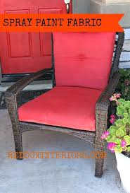 fabric spray paint on outdoor nylon type blog says you can use reviews extends the life of outdoor furniture cushions fabric spray paint