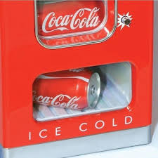 Coca Cola Mini Vending Machine Cool Retro Coca Cola Vending Fridge 48 Can Machine Mini Soda Refrigerator