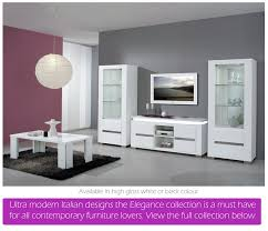 white or black furniture. White High Gloss Dining Furniture And Sets | EM Italia Or Black A