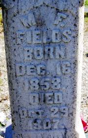 Mary Frances Craig Fields (1858-1907) - Find A Grave Memorial