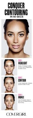 contour your face in 60 seconds follow cover s step by step tutorial using