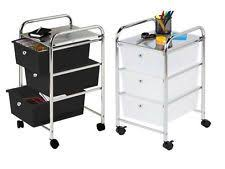 bathroom storage trolley. new 3 drawer white or black kitchen hairdressing beauty bathroom storage trolley bathroom storage trolley