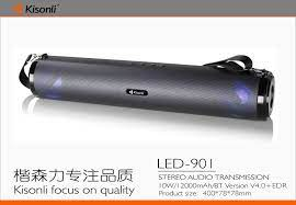 Loa Kisonli Bluetooth LED-901