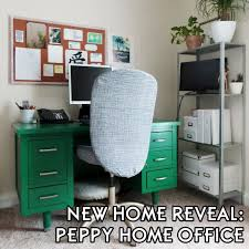 Divine home ikea workspace Organizing New Home Peppy Office Reveal The Decor Guru Emerald Green Soapstone Behr Chalk Paint Mid The Diy Homegirl New Home Reveal The Peppy Home Office The Diy Homegirl