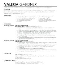 Sample Retail Resumes Best Retail Resumes Thrifdecorblog Com
