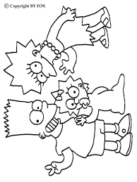 Kleurplaten Van Simpsons Voor Beginners