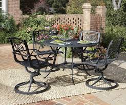 um size of patio person outdoor dining set with metal furniture table and chairs outside small