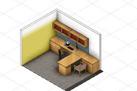 small office furniture layout. Design Firm HOK Created A Layout That Allows The Occupant To Convey Authority, Facing Guests Small Office Furniture