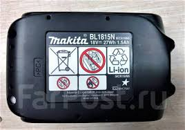 <b>Аккумулятор Makita BL1815N</b> Li-Ion 18В. 1,5Ач - Инструмент и ...