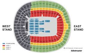 Wembley Stadium Nfl Seating Chart Wembley Stadium London Tickets Schedule Seating Chart