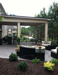 build a roof over patio designs