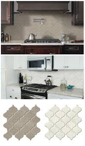 home depot backsplash tile kitchen msi bianco arabesque 9 84 in x 10 63
