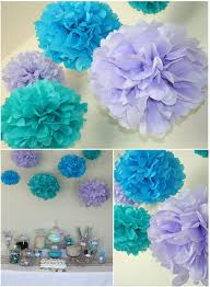 Tissue Balls Party Decorations Candy Themed Party Candy themed party Paper pom poms and Themed 33
