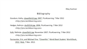 Bibliography website