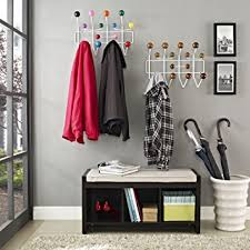 Hang It All Coat Rack Amazon Modway Gumball MidCentury WallMounted Coat Rack in 51