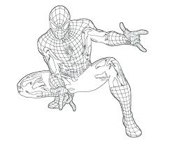 Amazing Spider Man Coloring Pages The Amazing Spider Man Coloring