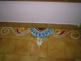 Side Rangoli Designs For Diwali Door Rangoli Image Simple Side Rangoli Designs Wall