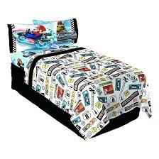 sheet set bed sheets super road rumble twin bros brothers mario bedding kart brot mario twin bedding