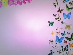 Ppt Flowers Butterflies And Flowers Backgrounds For Powerpoint Flower Ppt