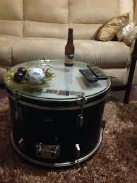 drum coffee table metal nz with storage silver perth