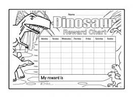 Dinosaur Reward Chart And Stickers Download And Print These Special Reward Charts Which Can Be
