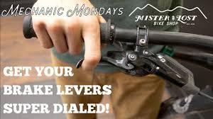 PRO TIP: Get Your <b>Brake Levers</b> Super Dialed! / Mechanic Mondays ...