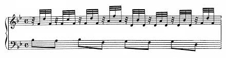 Bach Chord Progression Chart Bach Prelude And Fugue No 21 In B Major Bwv 866 Analysis