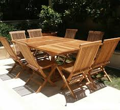 outdoor teak chairs. Adorable Teak Outdoor Furniture: Furniture Marvelous Wooden Dining Table Set With The Chairs