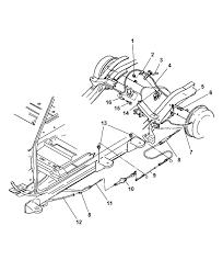 2002 dodge dakota parts diagram 52021721aa genuine mopar cable