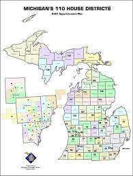 Redistricting in Michigan new political maps from the Michigan