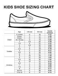 Pin By Jennifer Miller On I Love My Babies Shoe Size Chart