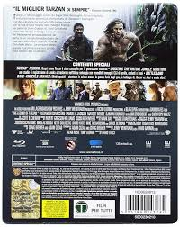 The Legend of Tarzan Steelbook - Blu-Ray: Amazon.it: Margot ...